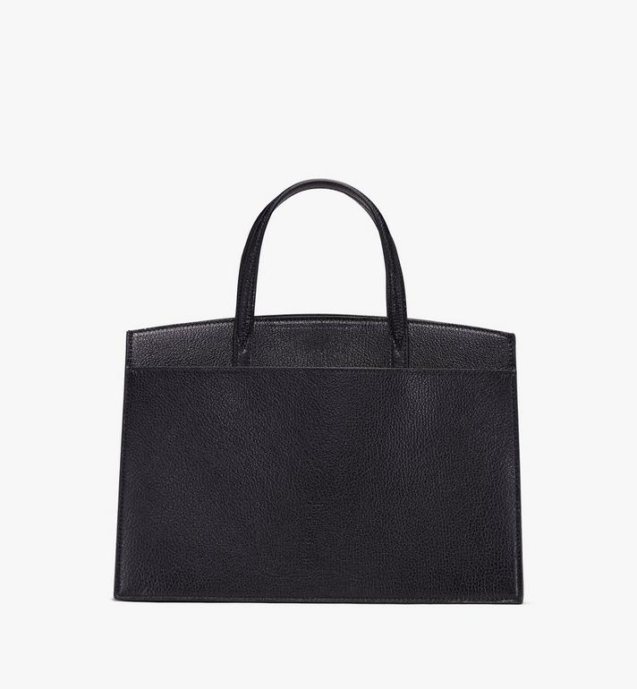 MCM Milano Tote in Capra Leather Black MWT9ADA15BK001 Alternate View 3