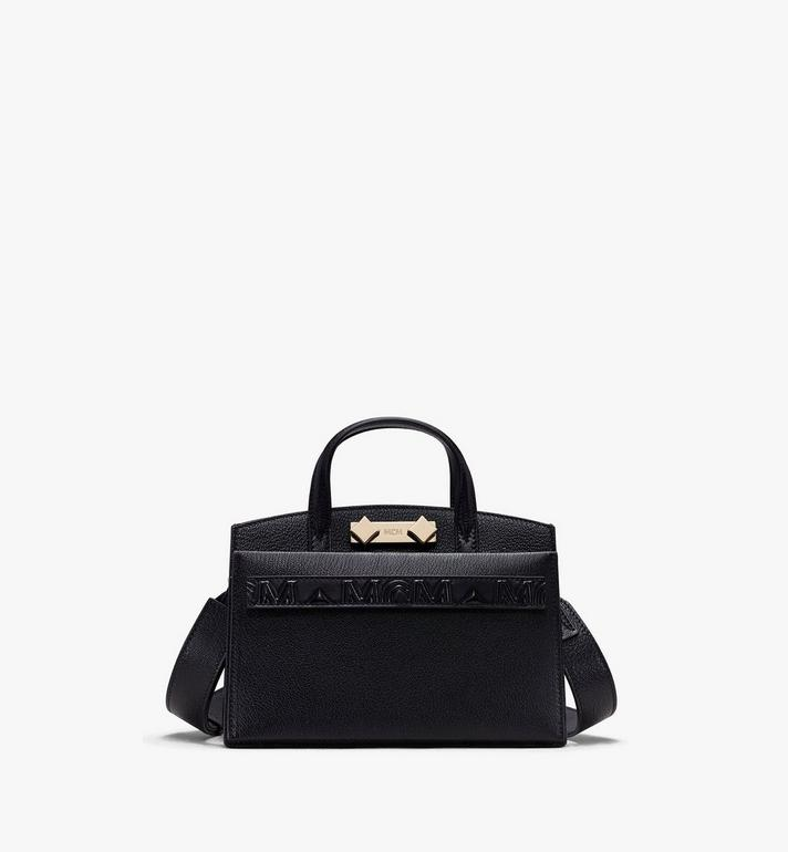 MCM Mini Milano Tote in Capra Leather Alternate View