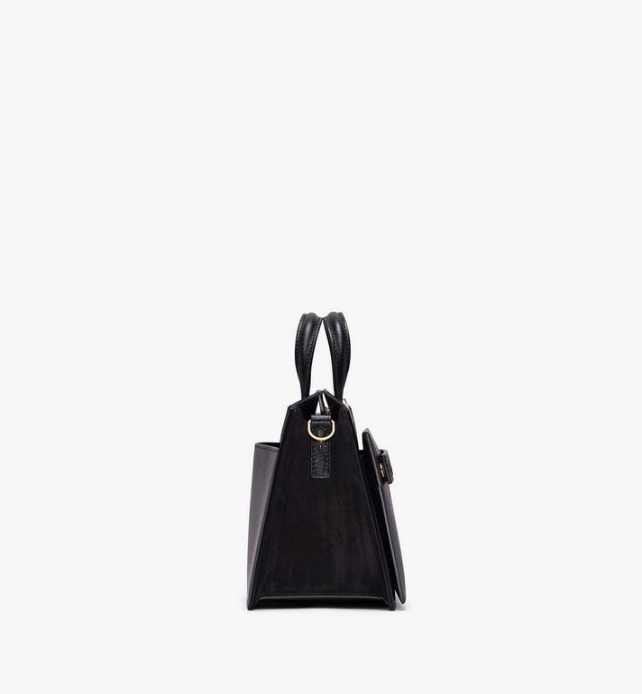 MCM Mini Milano Tote in Capra Leather Black MWT9ADA16BK001 Alternate View 2