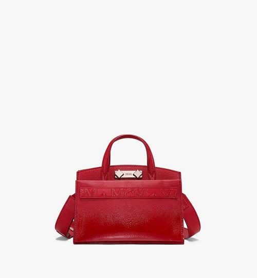 Mini Milano Tote in Patent Leather
