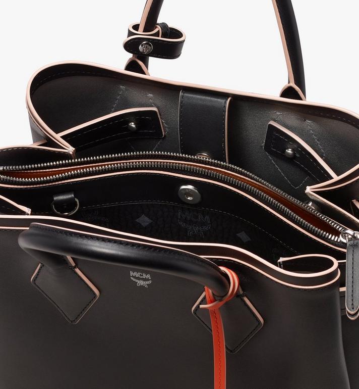 MCM Neo Milla Tote in Spanish Leather Black MWT9AMA76BK001 Alternate View 5