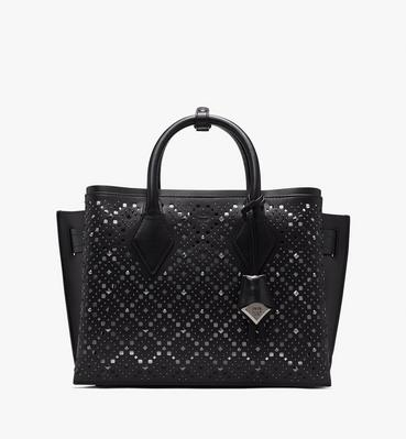 Neo Milla Tote in Perforated Leather
