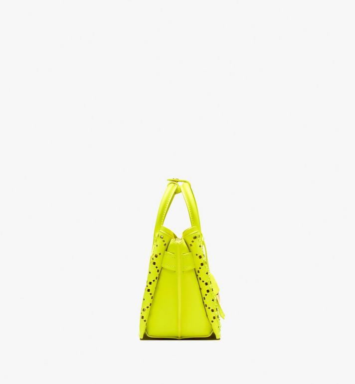 MCM Neo Milla Tote in Perforated Leather Alternate View 3