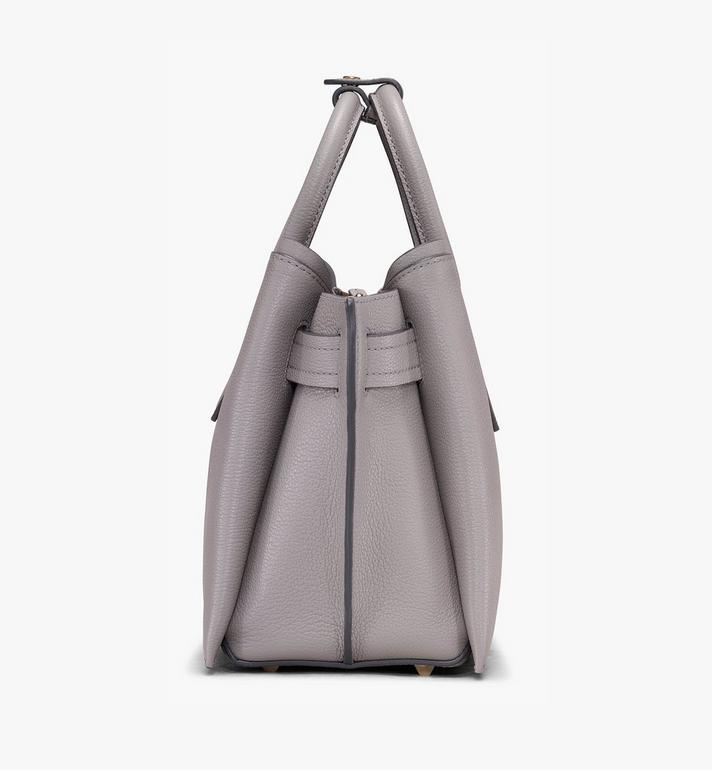 MCM Neo Milla Tote in Park Ave Leather Grey MWT9AMA96EZ001 Alternate View 2