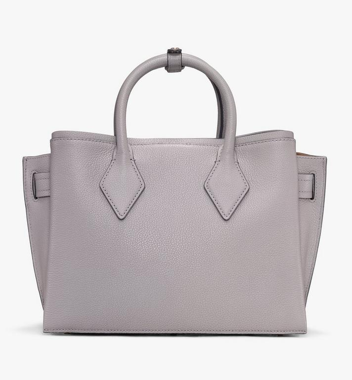 MCM Neo Milla Tote in Park Ave Leather Grey MWT9AMA96EZ001 Alternate View 3