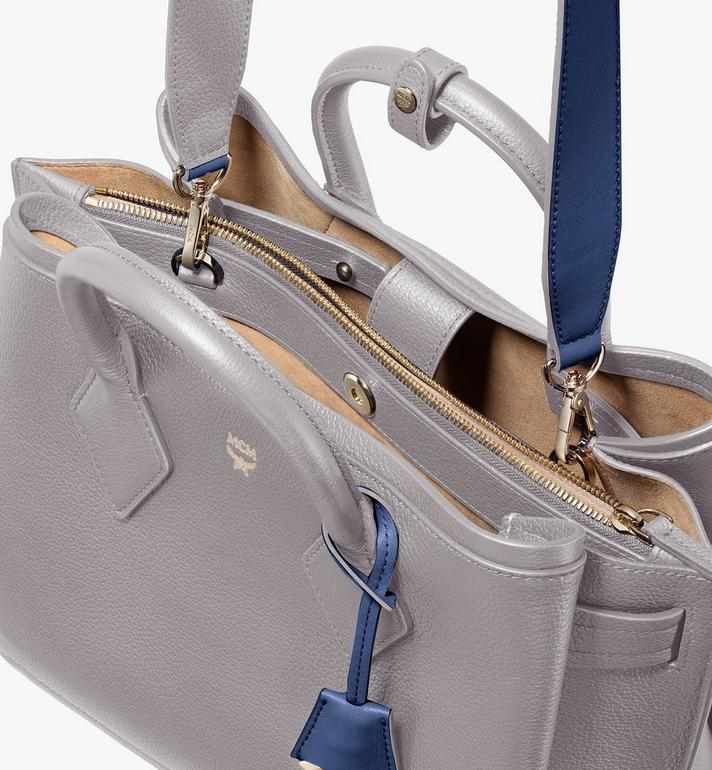 MCM Neo Milla Tote in Park Ave Leather Grey MWT9AMA96EZ001 Alternate View 4