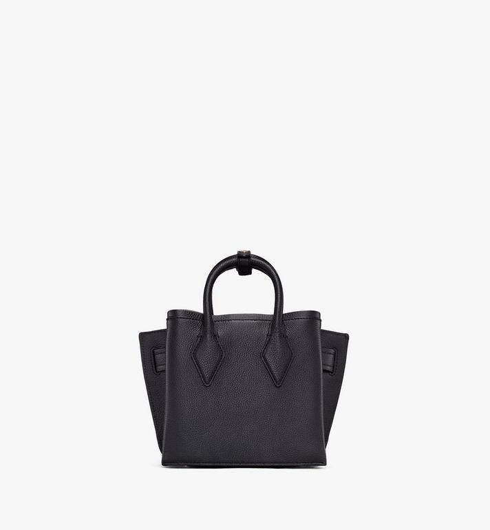 MCM Mini Neo Milla Tote in Park Ave Leather Black MWT9AMA97BK001 Alternate View 3