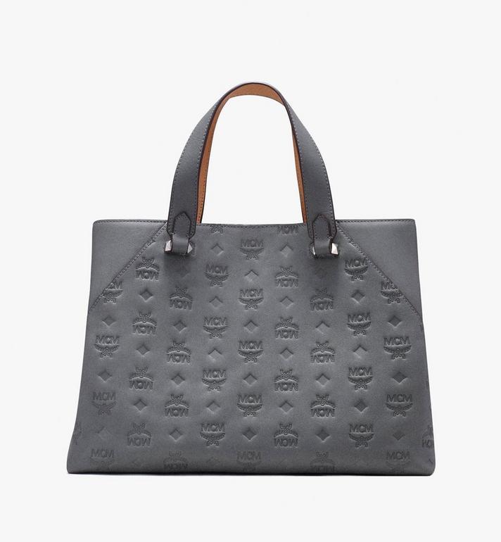 MCM Essential Tote Bag in Monogram Leather  MWT9ASE43EC001 Alternate View 3