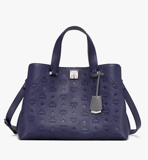 Essential Tote Bag in Monogram Leather