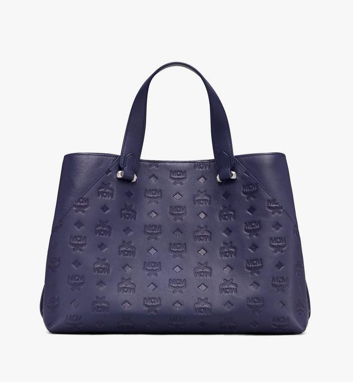 MCM Essential Tote Bag in Monogram Leather  MWT9ASE43VA001 Alternate View 3