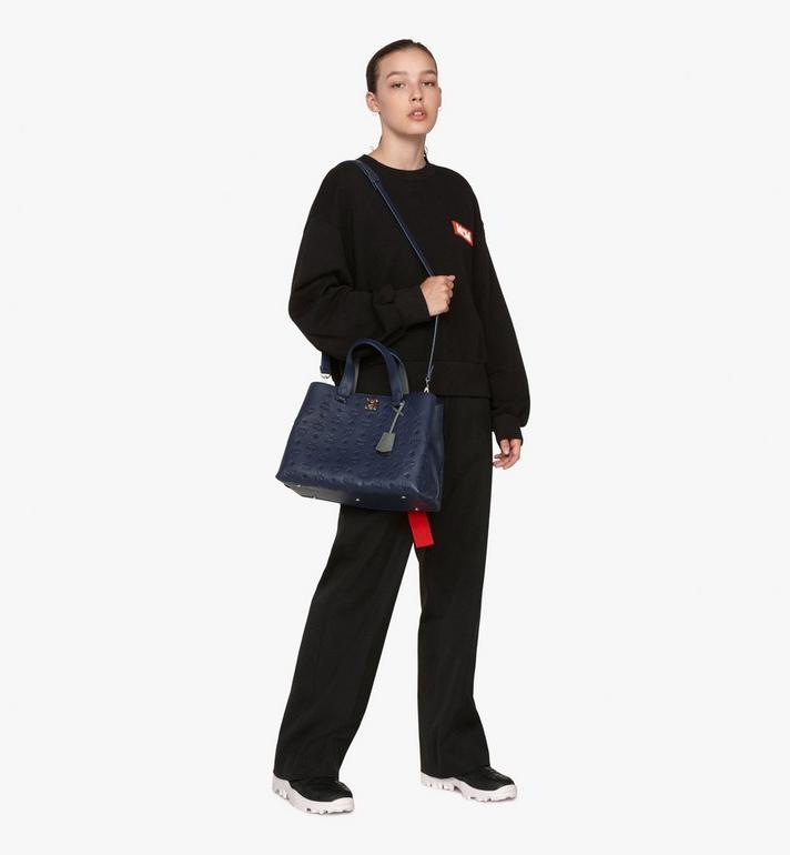 MCM Essential Tote Bag in Monogram Leather  MWT9ASE43VA001 Alternate View 5