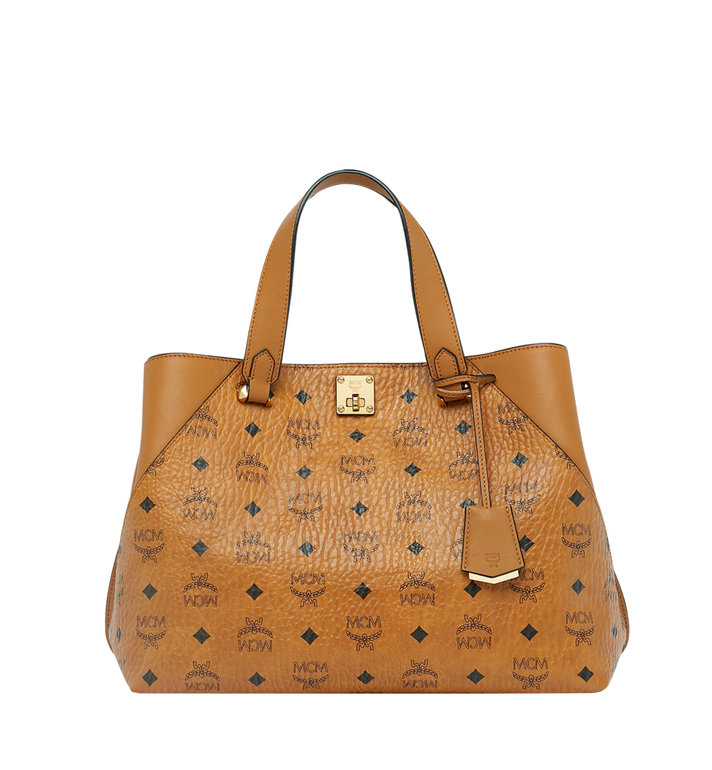 MCM Essential Tote in Visetos Original Alternate View