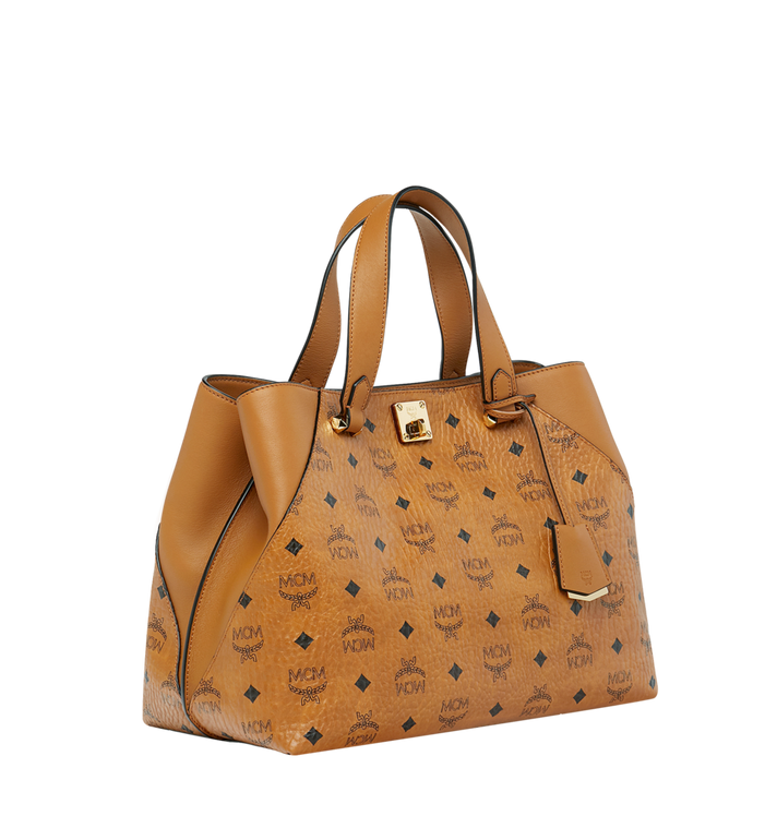 MCM Essential Tragetasche in Visetos Original Alternate View 2