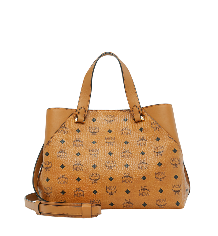 MCM Essential Tragetasche in Visetos Original Alternate View 4