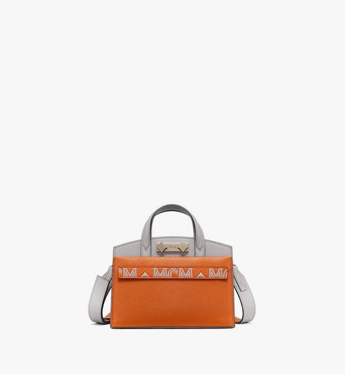 กระเป๋าโท้ท Milano ทำจากหนังแพะสีคัลเลอร์บล็อก