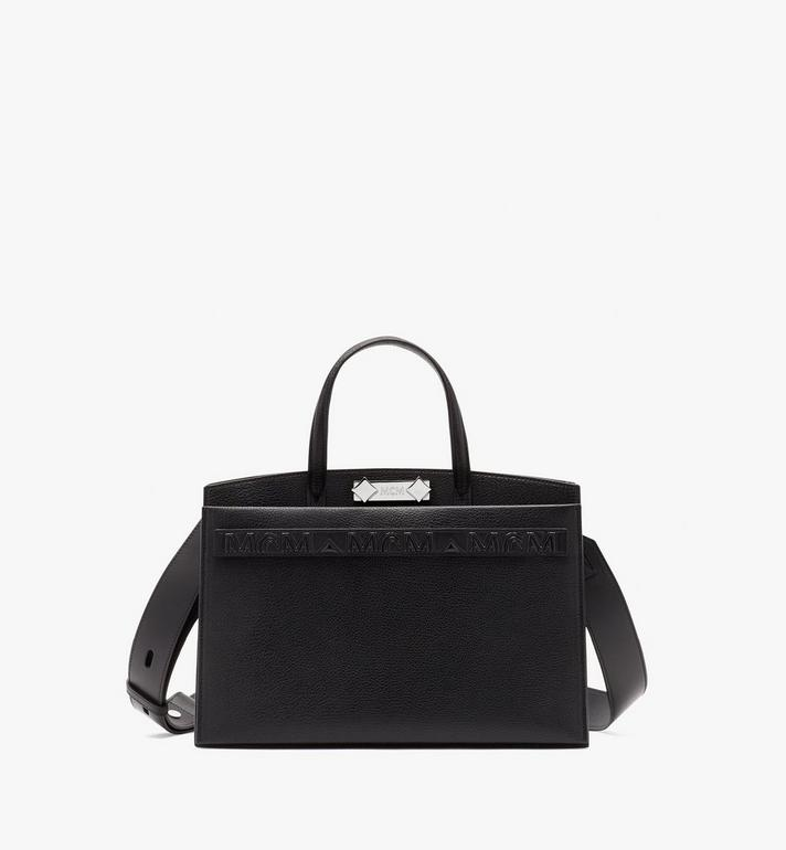MCM Milano Tote Bag in Goatskin Leather Alternate View