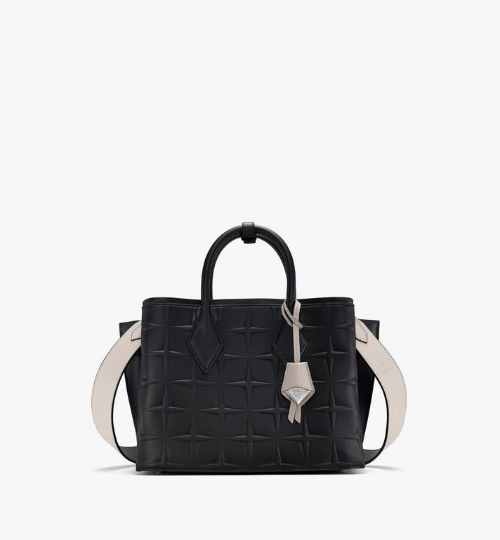 MCM Neo Milla Tote in Diamond Leather Black MWTASMA01BK001 Alternate View 1