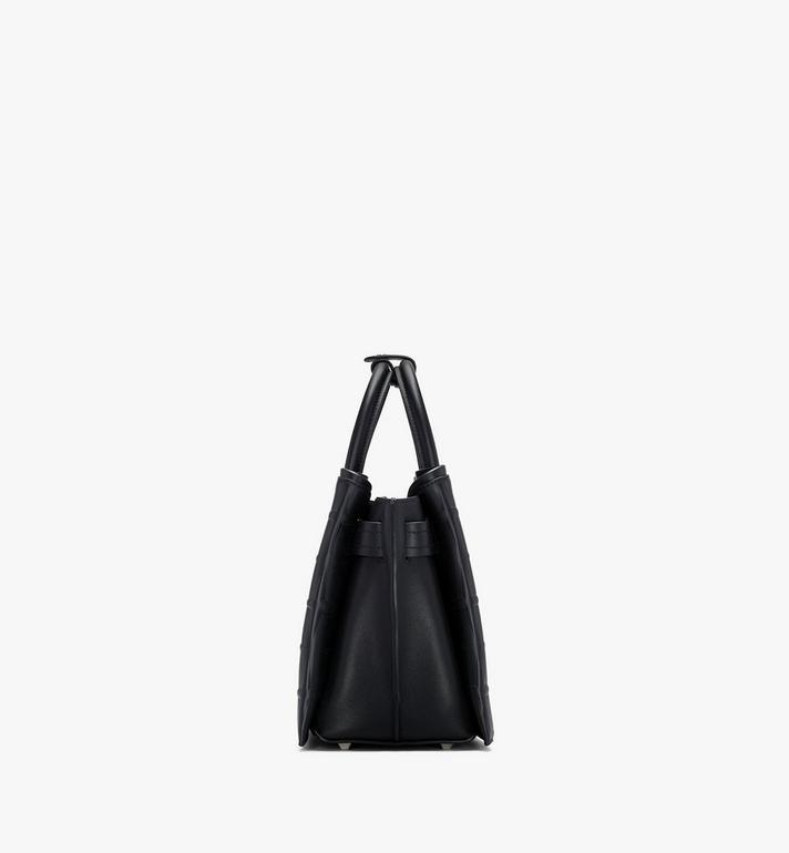 MCM Neo Milla Tote in Diamond Leather Black MWTASMA01BK001 Alternate View 2