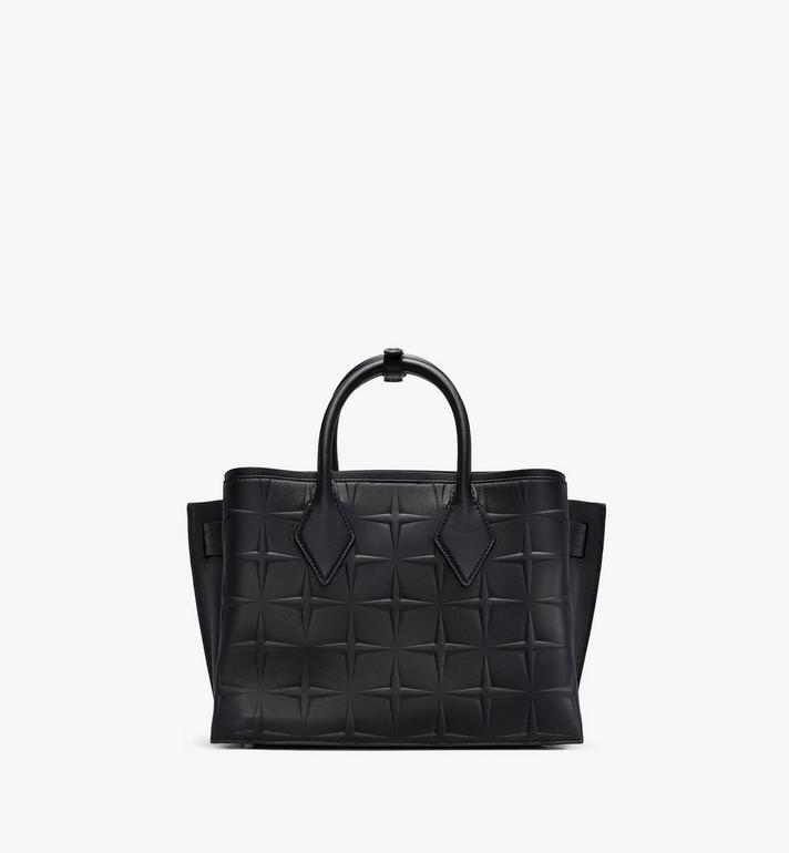 MCM Neo Milla Tote in Diamond Leather Black MWTASMA01BK001 Alternate View 3