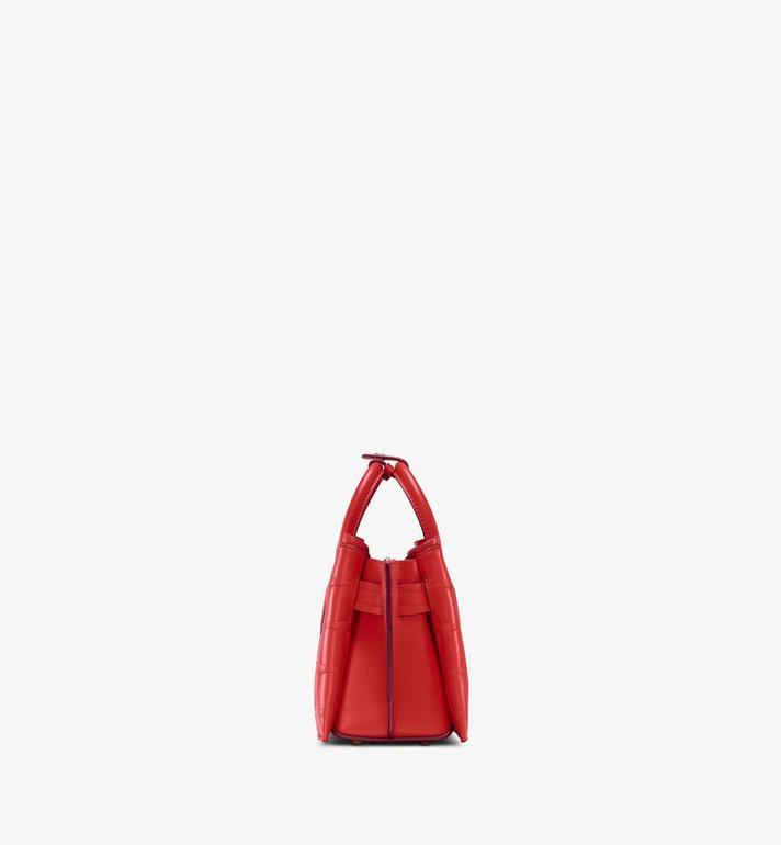 MCM Neo Milla Tote in Diamond Leather Red MWTASMA02R4001 Alternate View 2