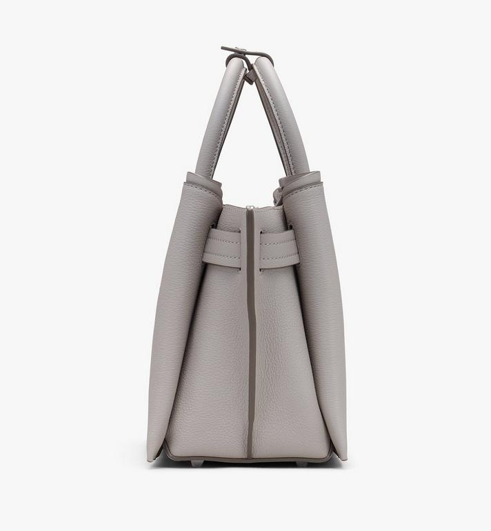 MCM Neo Milla Tragetasche aus Leder in Park Avenue Grey MWTASMA03FJ001 Alternate View 2