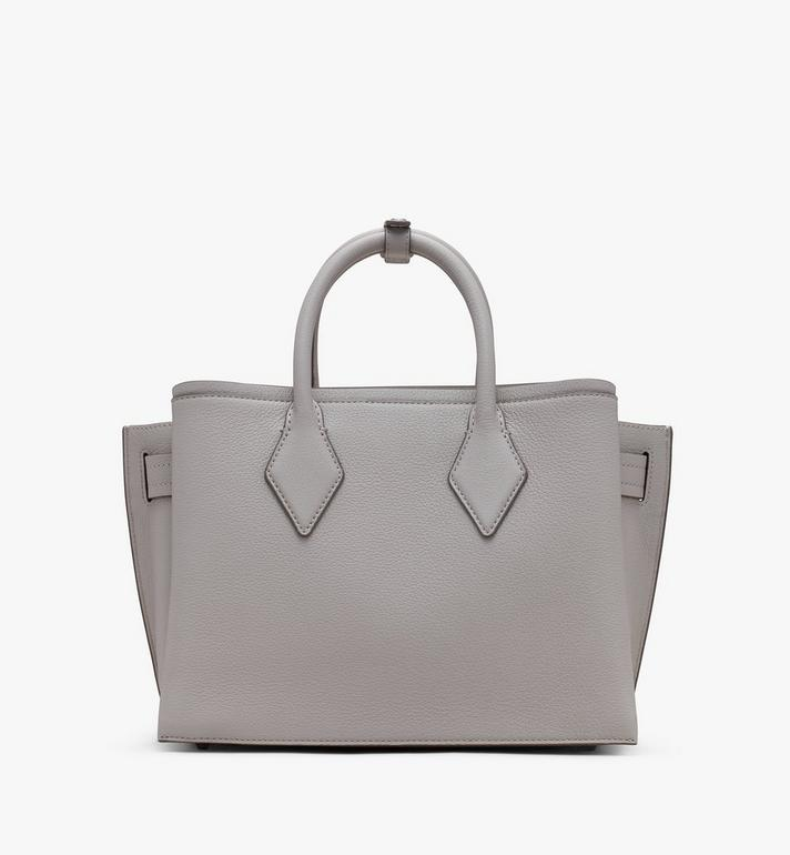 MCM Neo Milla Tragetasche aus Leder in Park Avenue Grey MWTASMA03FJ001 Alternate View 3