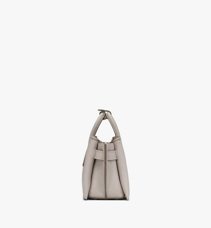 MCM Sac fourre-tout Neo Milla en cuir Park Avenue Grey MWTASMA04FJ001 Alternate View 2
