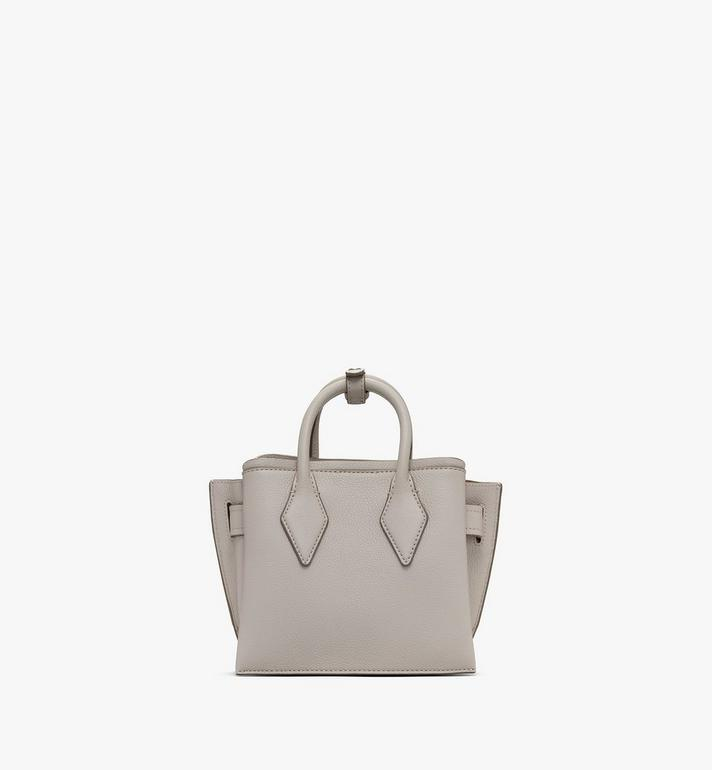 MCM Sac fourre-tout Neo Milla en cuir Park Avenue Grey MWTASMA04FJ001 Alternate View 3