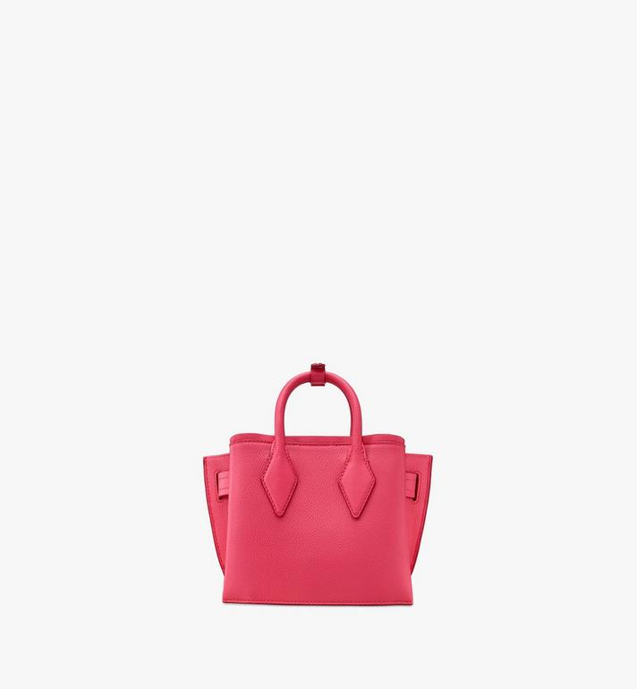MCM Neo Milla Tote in Park Avenue Leather Pink MWTASMA04QE001 Alternate View 3