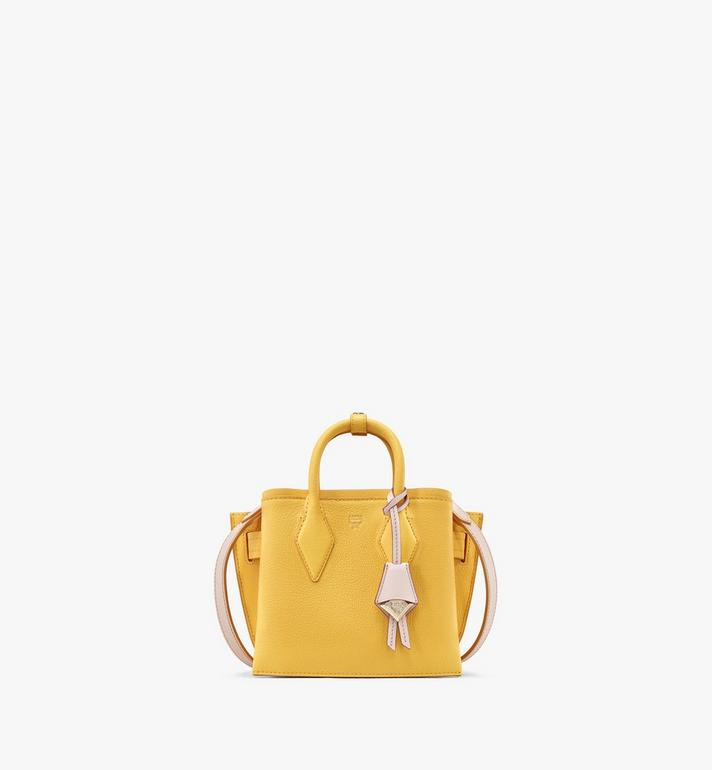 MCM Neo Milla Tote in Park Avenue Leather Yellow MWTASMA04YQ001 Alternate View 1