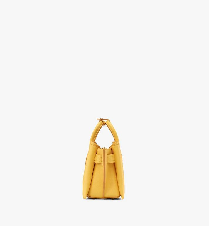 MCM Neo Milla Tote in Park Avenue Leather Yellow MWTASMA04YQ001 Alternate View 2