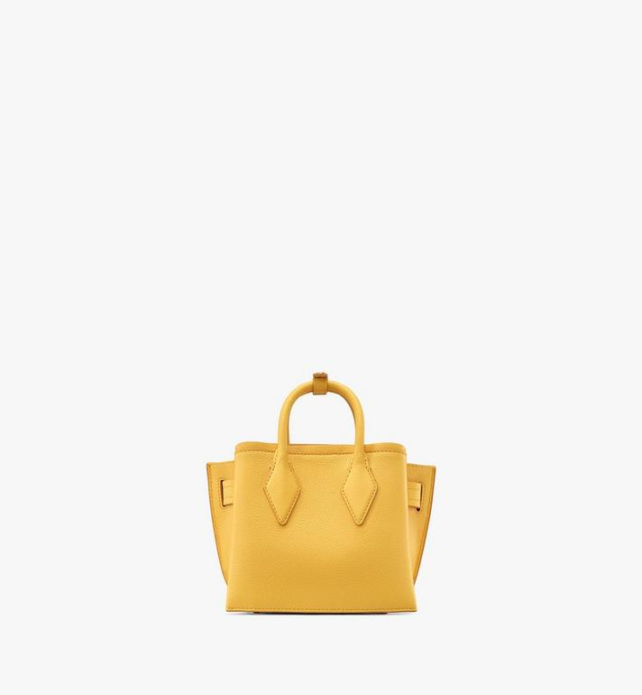 MCM Neo Milla Tote in Park Avenue Leather Yellow MWTASMA04YQ001 Alternate View 3