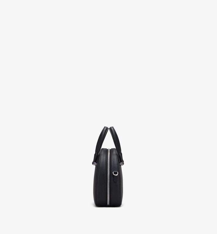 MCM Essential Half Moon Disco Tote Bag Black MWTASSE01BK001 Alternate View 2