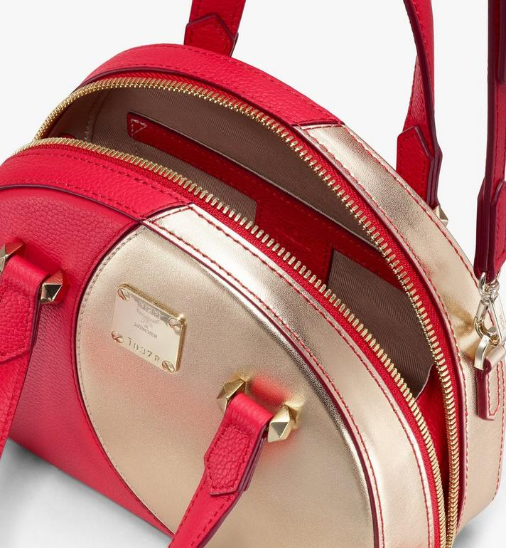 MCM Sac fourre-tout Essential Half Moon Disco Red MWTASSE01R4001 Alternate View 4