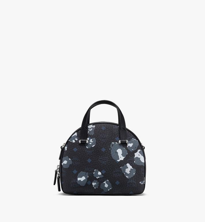 MCM Sac fourre-tout Essential Half moon à imprimé Floral Leopard Black MWTASSE04B1001 Alternate View 3