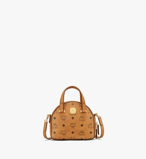 กระเป๋าโท้ท Essential ทรงครึ่งวงกลมลาย Visetos แต่งหมุด