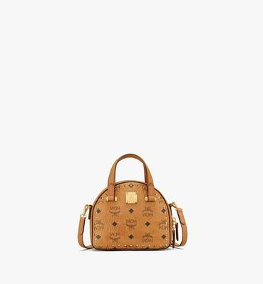 Essential Disco Tote in Studded Visetos