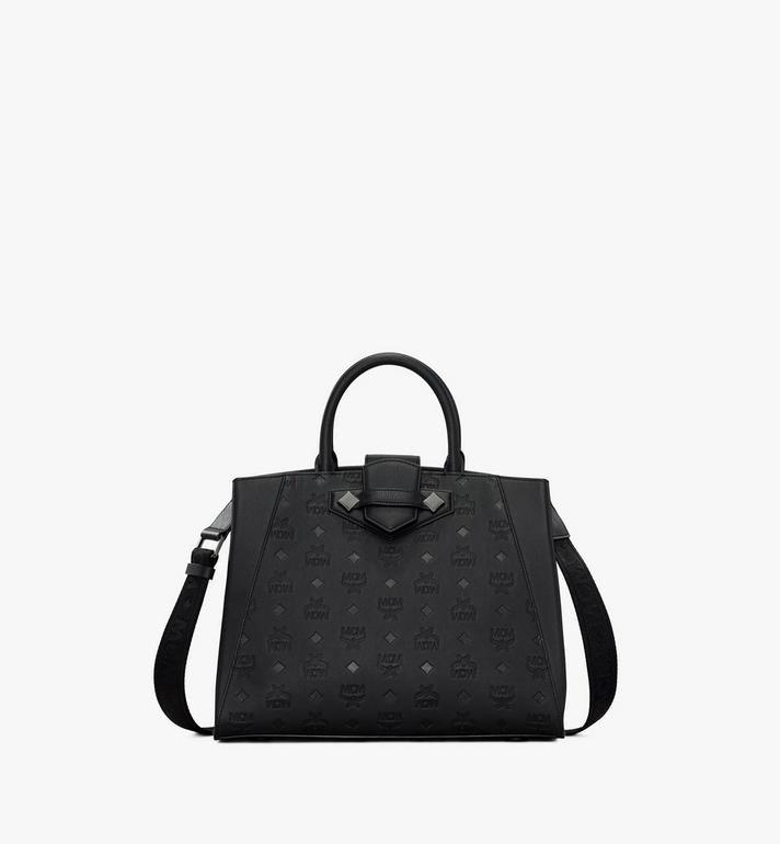 MCM Essential Tote in Monogram Leather Alternate View