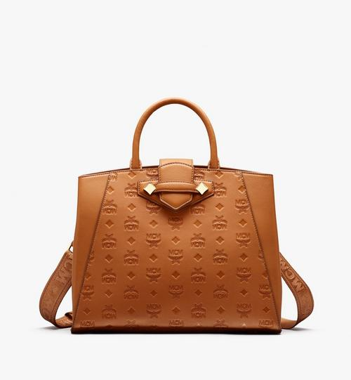 Essential Tote in Monogram Leather