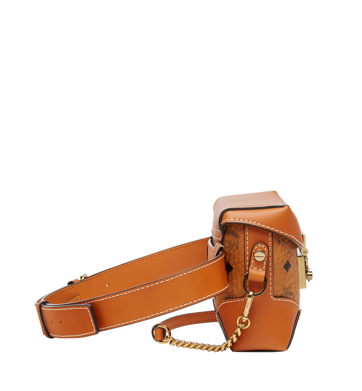 MCM Soft Berlin Belt Bag in Visetos Cognac MWZ8ABF13CO001 Alternate View 3