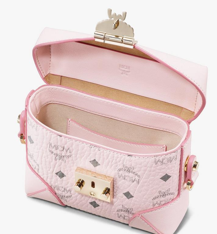 MCM Soft Berlin Belt Bag in Visetos Pink MWZ8ABF13QH001 Alternate View 4