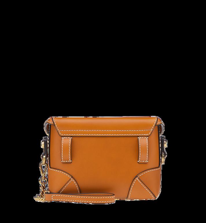 MCM Soft Berlin Belt Bag in Vachetta Leather Cognac MWZ8ABF23CO001 Alternate View 4