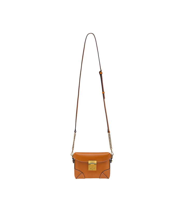 MCM Soft Berlin Belt Bag in Vachetta Leather Cognac MWZ8ABF23CO001 Alternate View 7