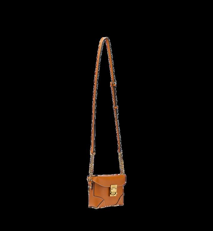 MCM Soft Berlin Belt Bag in Vachetta Leather Cognac MWZ8ABF23CO001 Alternate View 8