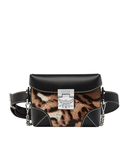 Soft Berlin Belt Bag in Leopard Haircalf