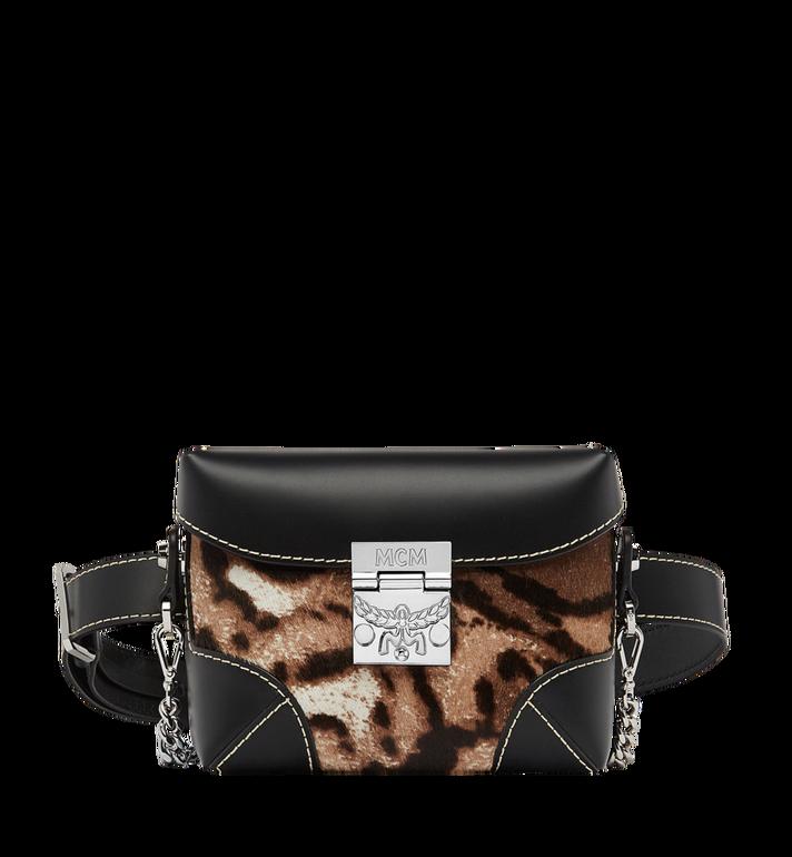Soft Berlin Belt Bag In Leopard Haircalf in Eg