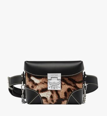 Soft Berlin Belt Bag in Leopard Haircalf