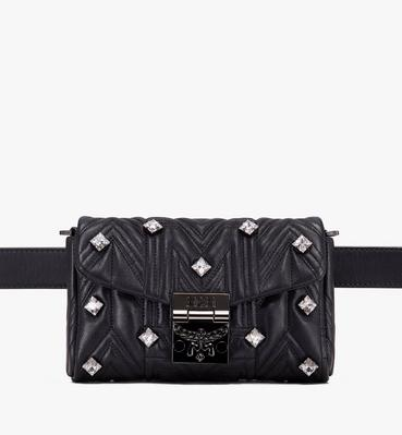 Patricia Belt Bag in Quilted Crystal Leather