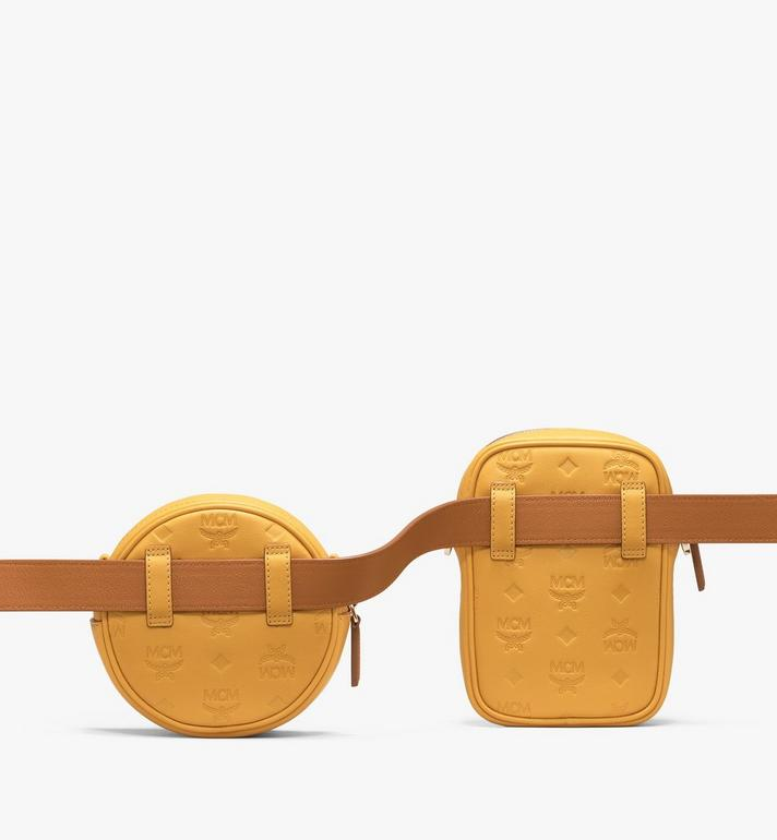 MCM Pochette de ceinture Essential en cuir monogrammé  MWZ9ASE10YJ001 Alternate View 2