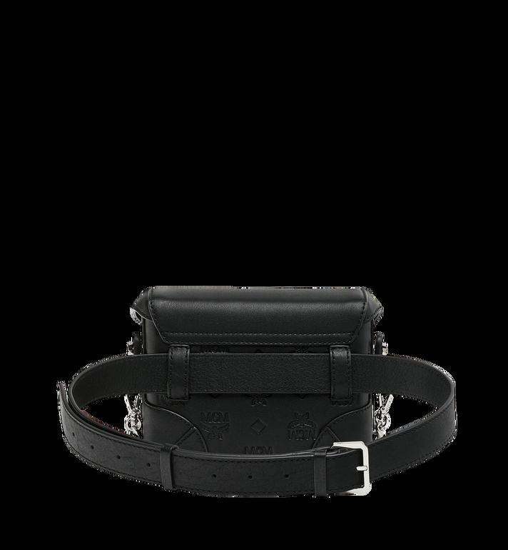 MCM Soft Berlin Belt Bag in Monogram Leather Black MWZ9SBF26BK001 Alternate View 4